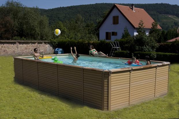 Piscines Zodiac Le must de la piscine bois posite Azteck