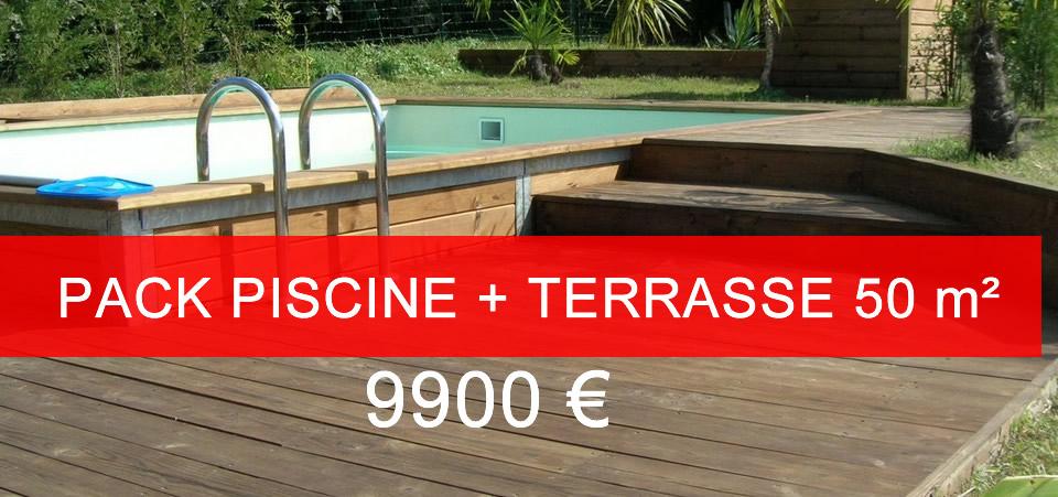 destockage piscine bois Les Piscines du Net