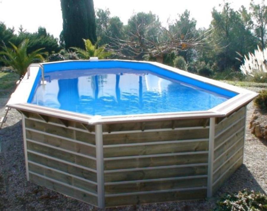Kit piscine hors sol bois piscine bois pas cher