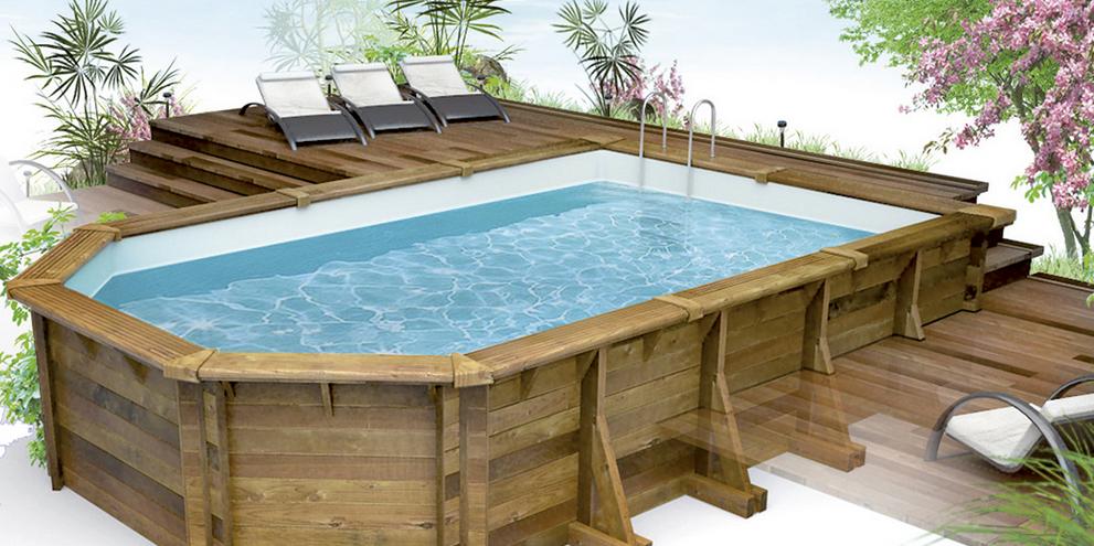 Plein d idées de piscines semi enterrées
