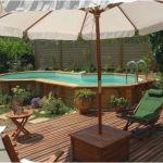 Piscine Hors sol Terrasse Jardin Avec Piscine Élégant Piscine Hors sol Avec Terrasse