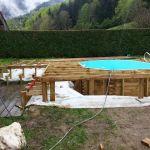 Piscine Hors sol Terrasse Kit Terrasse Bois Pour Piscine Hors sol Mailleraye Jardin