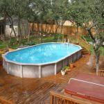 Piscine Hors sol Terrasse Terrasse Bois Piscine Hors sol 1001 Conceptions Cr atives