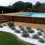 Piscine Hors sol Terrasse Terrasse Bois Piscine Hors sol Et Enterrace Exemple