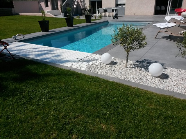 amenagement piscine terrasse bois