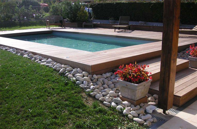 Terrasse escalier en Ipé gardening & outdoors