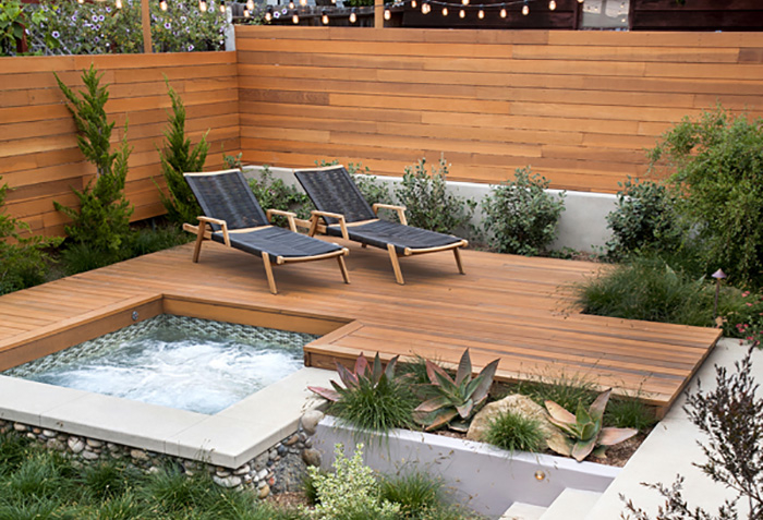 terrasse piscine spa