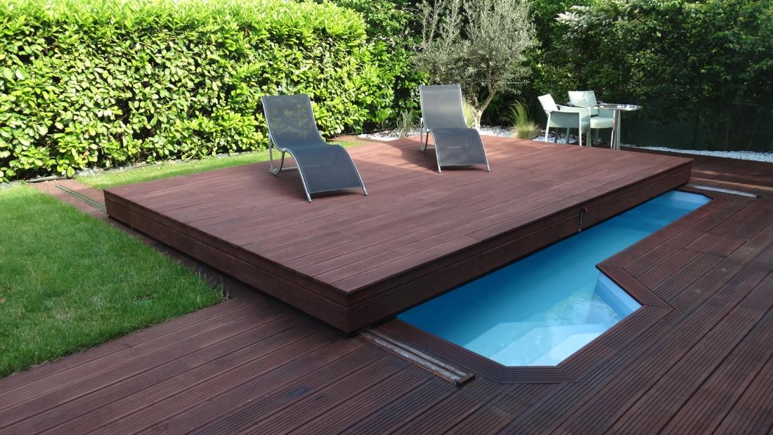 Installation de terrasse mobile pour piscine à Toulouse