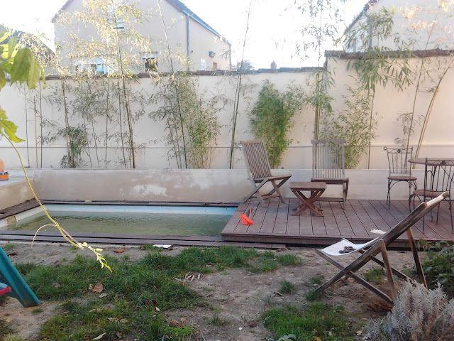 Piscines Spas mini piscine et terrasse coulissante en