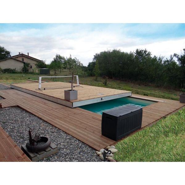 Terrasse bois coulissante sur piscine Nos Conseils