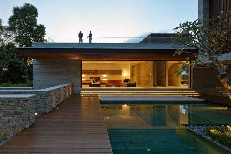 Aménagement autour d une piscine idées de conception cool