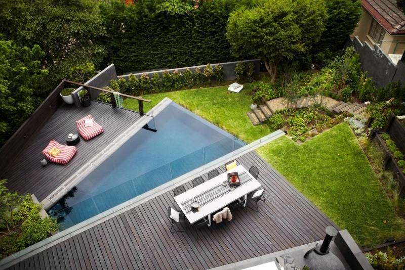 Piscine extérieur – 90 photos sur l'aménagement piscine et
