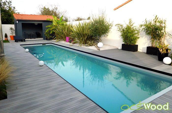 plage de piscine posite style bord de mer moderne