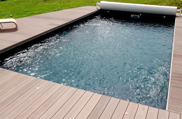 Terrasse piscine en posite