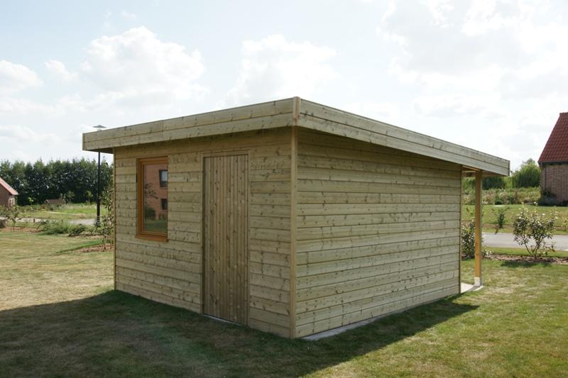 Cabane De Jardin En Palette WV14