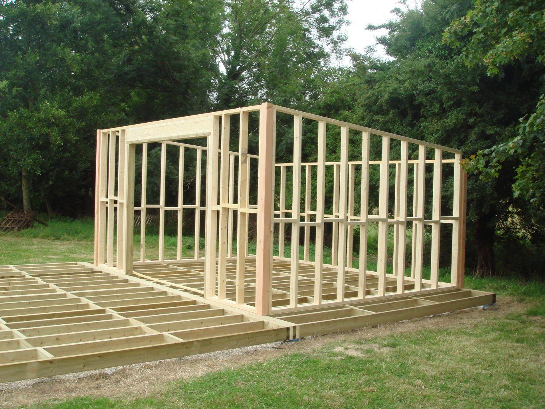 Construire Soi Meme Une Cabane En Bois plan abri de jardin ment construire une cabane en bois ms56
