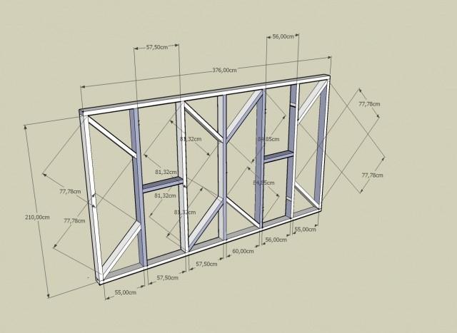 Plan d'abri de jardin en bois gratuit – Bricolage Maison