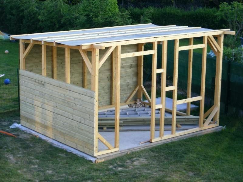 Stunning Plan Abri De Jardin Bois Ideas House Design