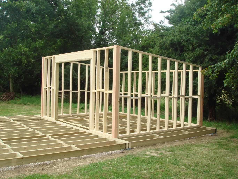ment Construire Une Cabane En Bois MS56