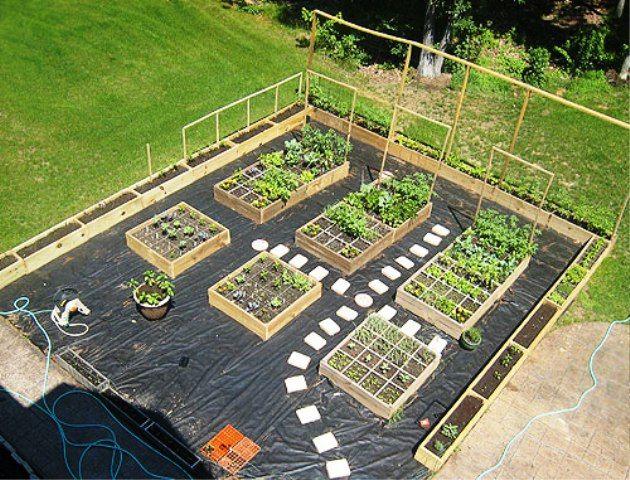 Plan Aménagement Jardin Aménagement Jardin Potager Recherche Google