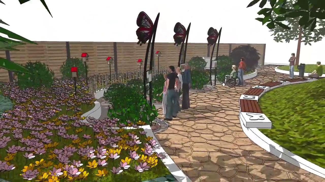 Plan Aménagement Jardin Plans D Aménagement Jardin à Papillons