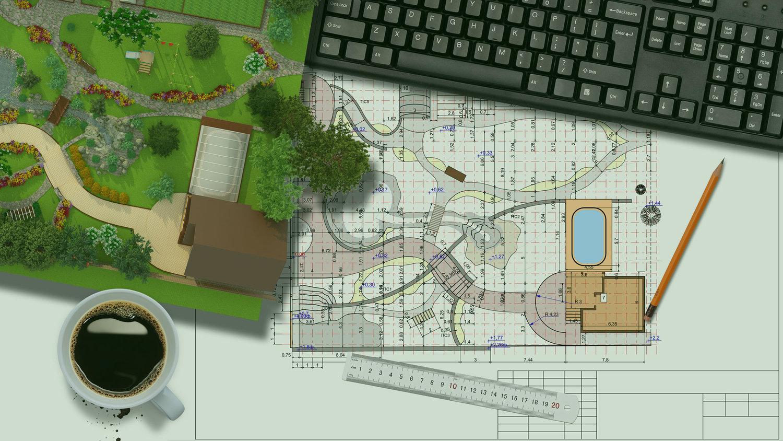Plan Aménagement Jardin Prix Moyen D Un Paysagiste Pour L Aménagement Et La