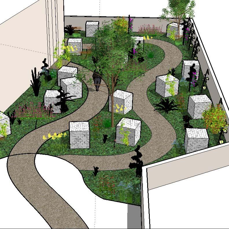 Plan Aménagement Jardin Vert L Ouest Paysagiste Coach Jardin formation