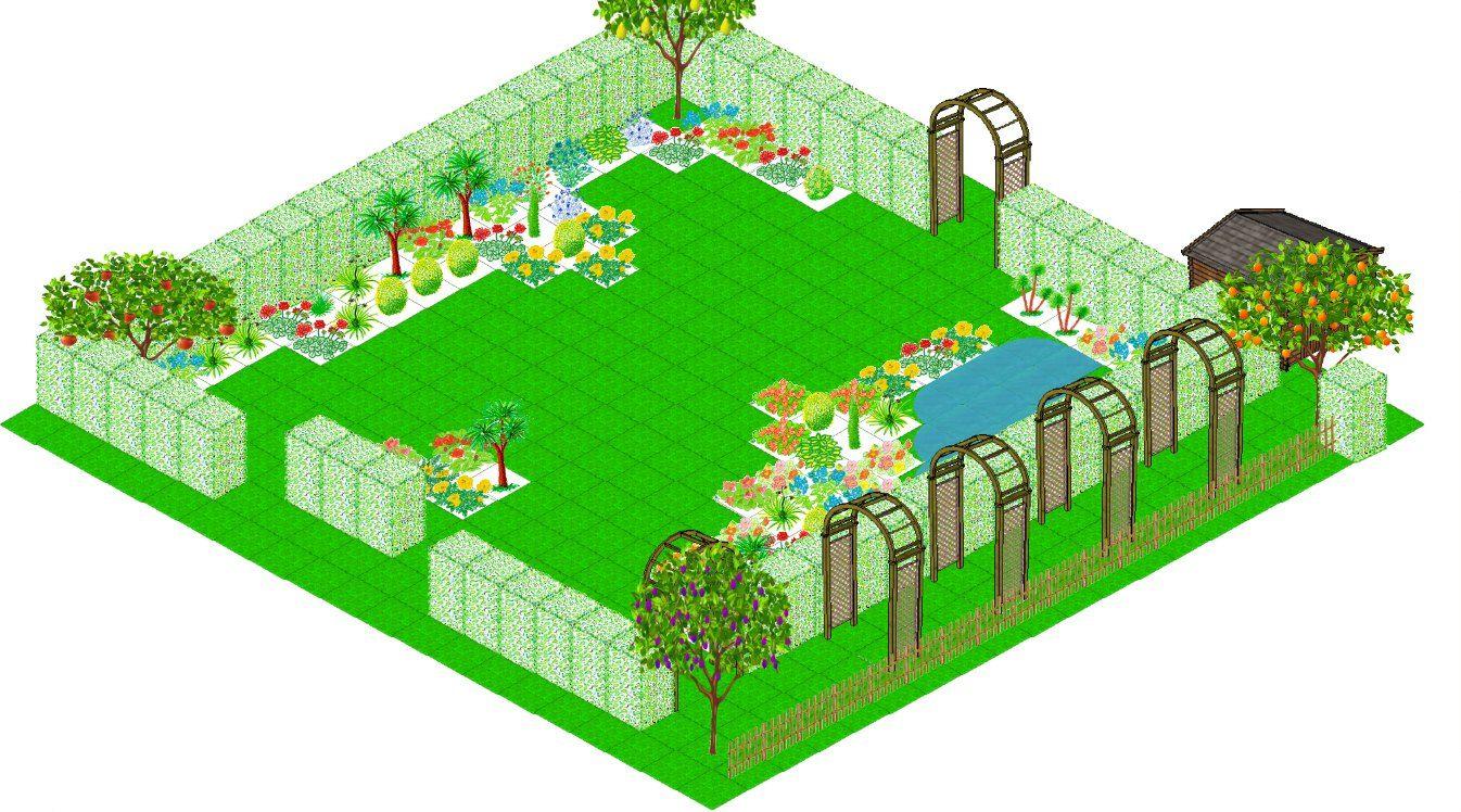 Architecte Jardin 3D Gratuit plan de jardin 3d application gratuite de dessin du plan de