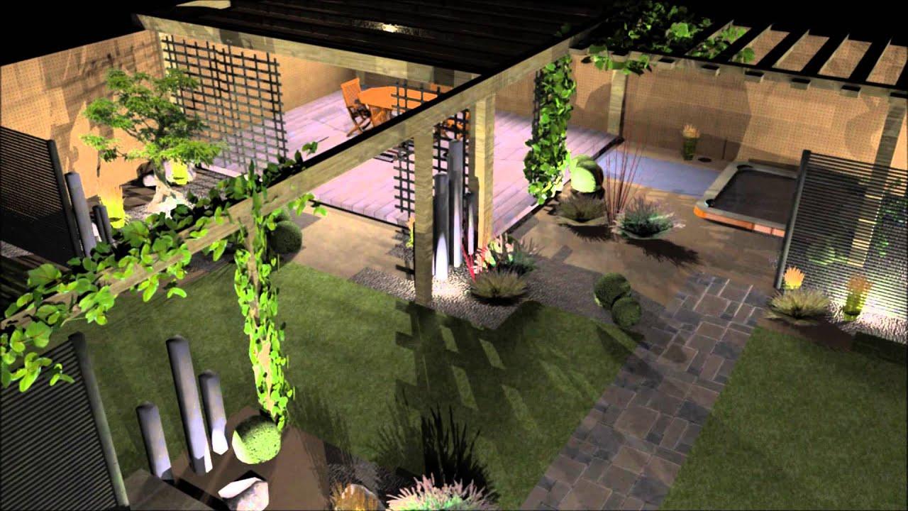 Plan De Jardin 3d Bargain Paysage Conception Du Plan De Jardin Avec