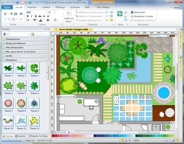 Plan De Jardin 3d Logiciel Creation Plan L Impression 3d
