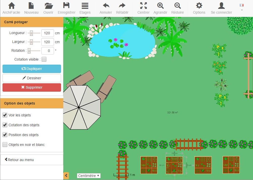 Plan De Jardin 3d Plan De Jardin Et De Potager En Ligne