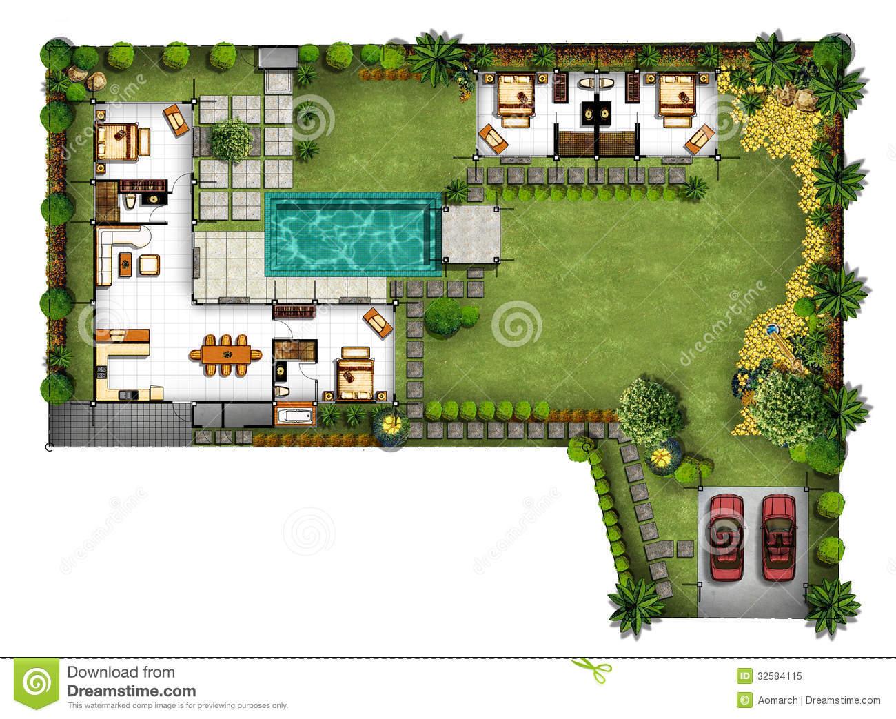Plan De Jardin Gratuit Plan De Maison Jardin