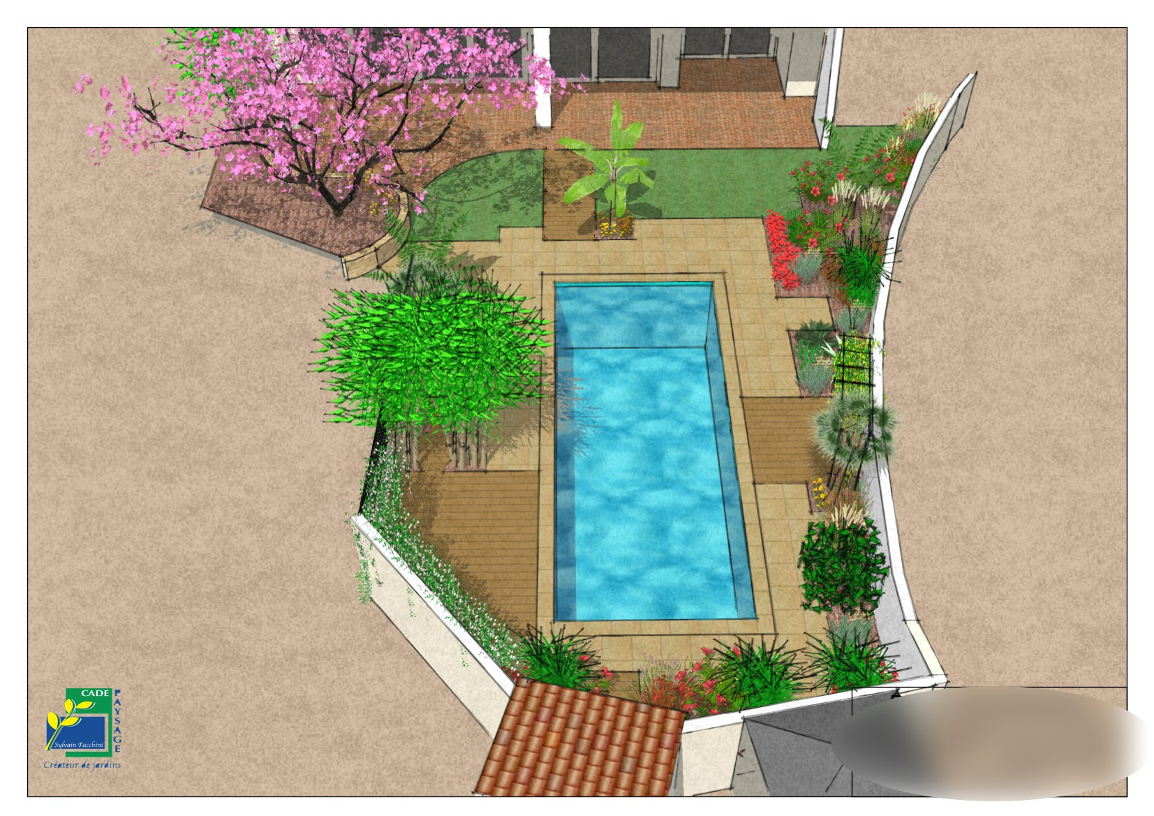 Plan De Jardin Gratuit Simulateur Aménagement Jardin