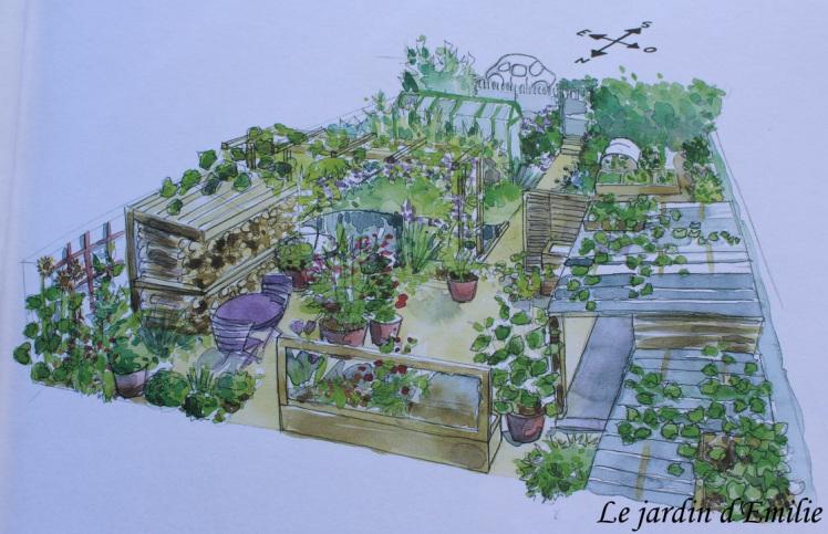 Mon petit potager en permaculture – Terre Vivante – Le