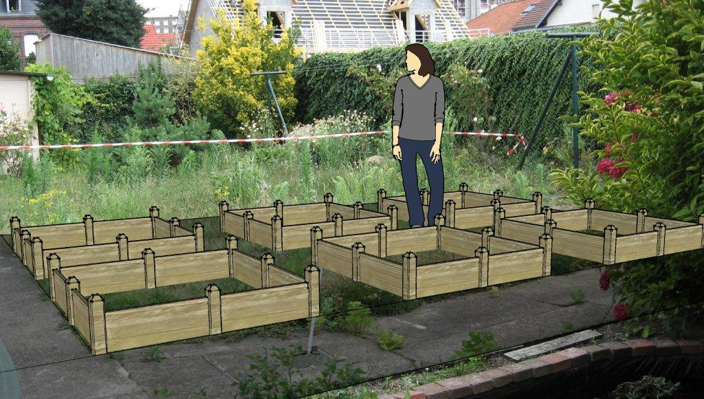 Mon potager sur plan Au jardin forum de jardinage