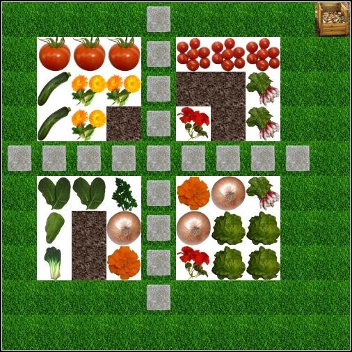potager en carré plan 19 aout 2012