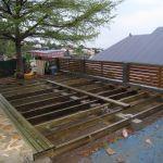 Planche Bois Terrasse Lasure Ou Huile Pour Un Plancher Bois Brut En Terrasse