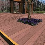 Planche Bois Terrasse Planche De Patio En Posite Ezdeck Natural Terrasse De