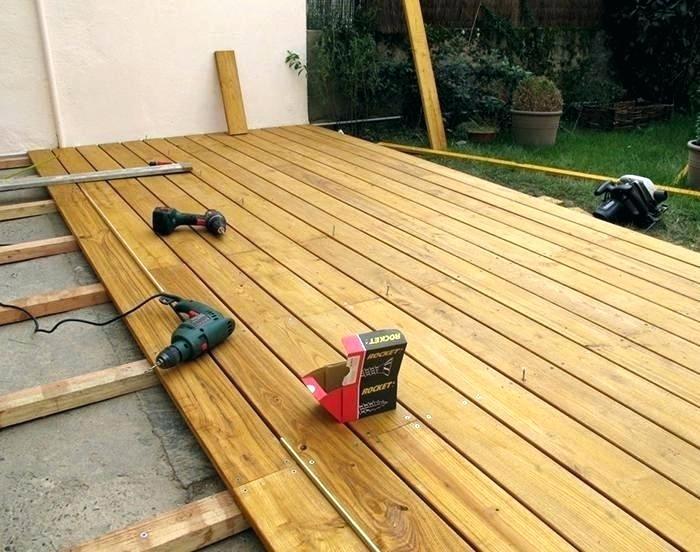plancher bois terrasse exterieur