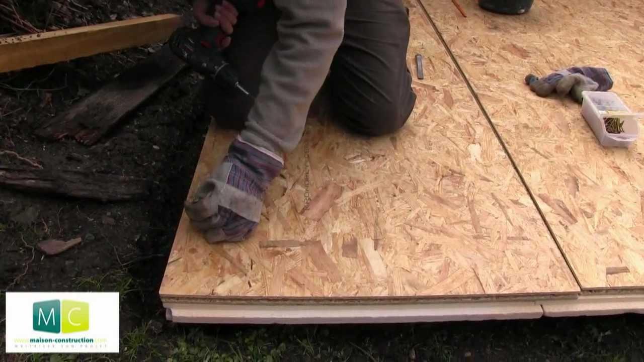 Plancher isolation isolation extérieure