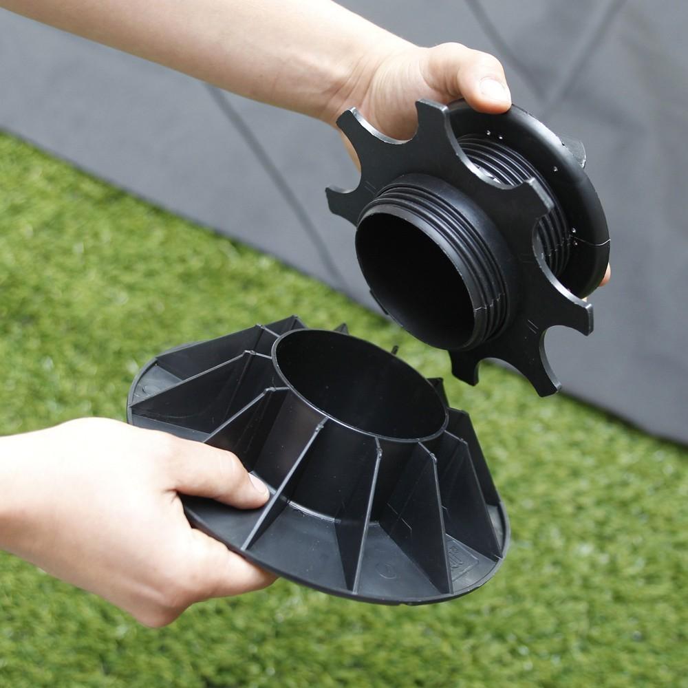 Plot pour terrasse NIVO H25 40mm Plot pour lambourdes