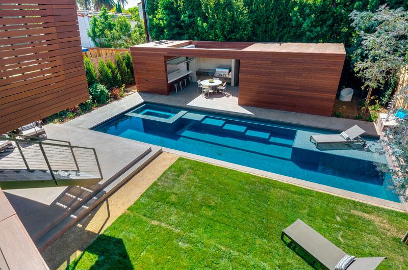 11 idées pour intégrer un pool house moderne à coté de
