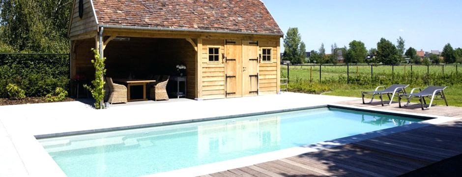 amenagement piscine avec pool house