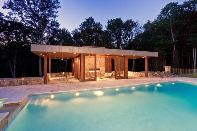 Pool House Piscine Modern Pool House