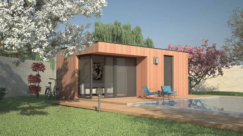 Pool House contemporain