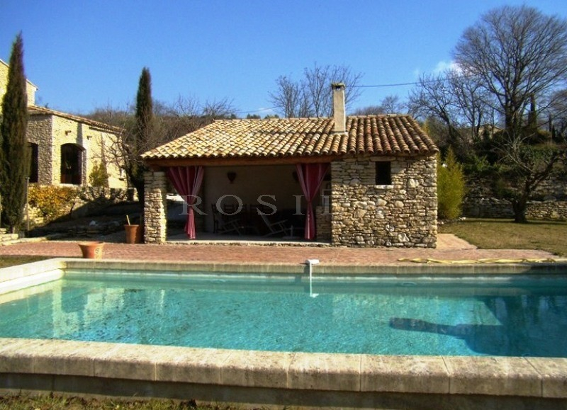 Pool House Piscine Ventes Maison En Pierres En Luberon Avec Piscine Et Pool