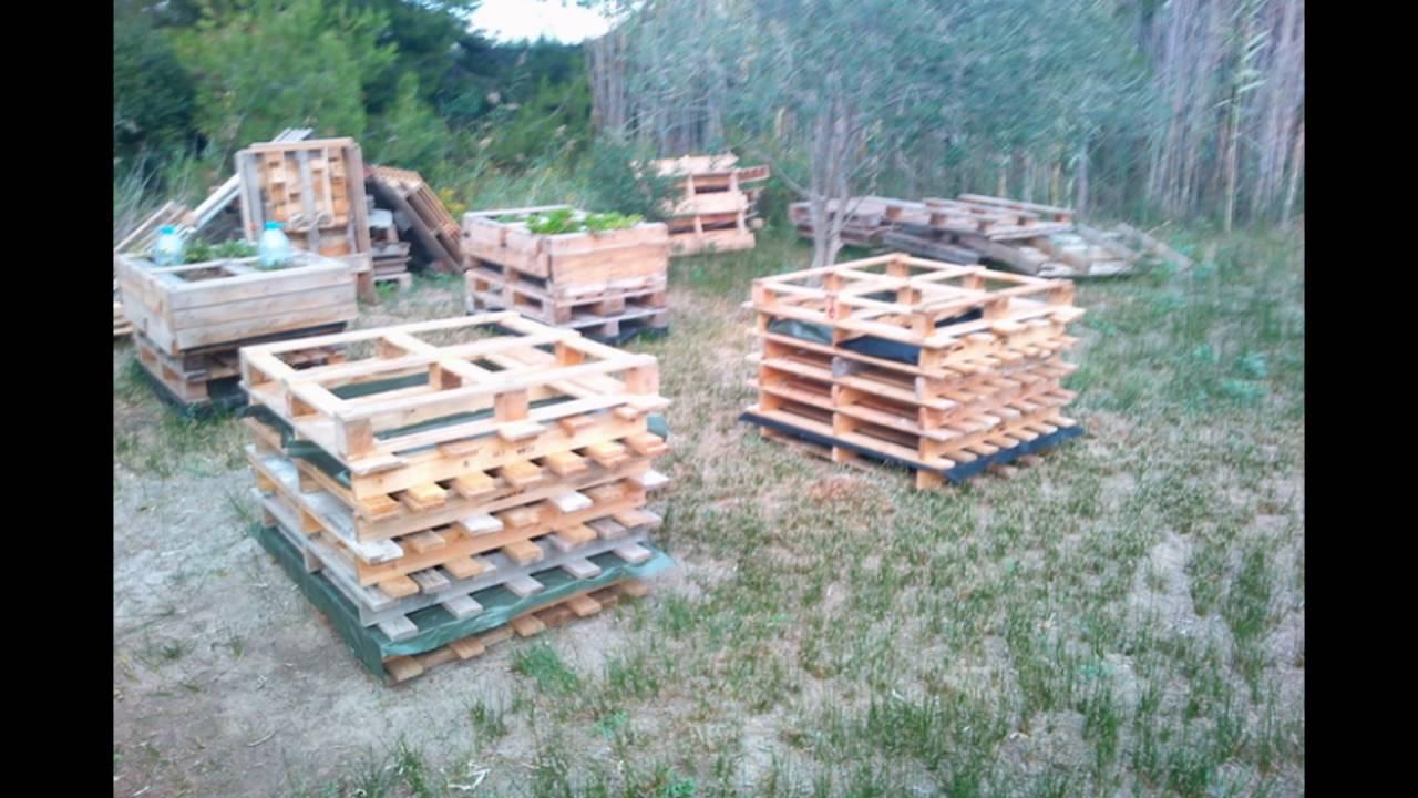 Fabriquer Potager Carré En Bois potager avec palette créer un carré potager dans son jardin