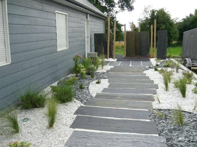 Dalle Ardoise Terrasse Une Allace De Jardin En Dalles