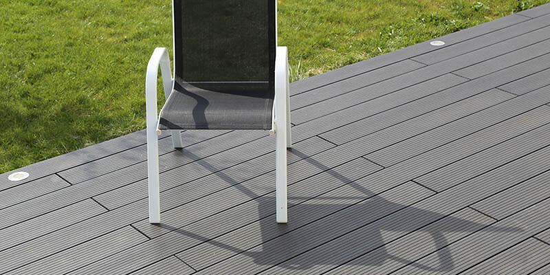 Terrasse bois posite prix au m2 Mailleraye jardin