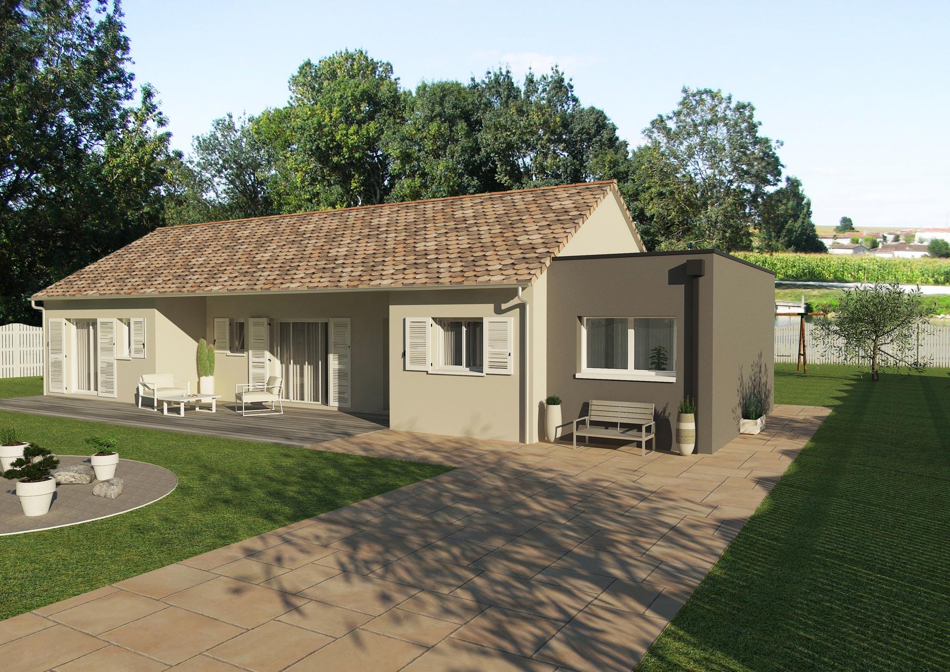 Prix Maison toit Plat Stunning Constructeur Maison Contemporaine toit Plat Avec